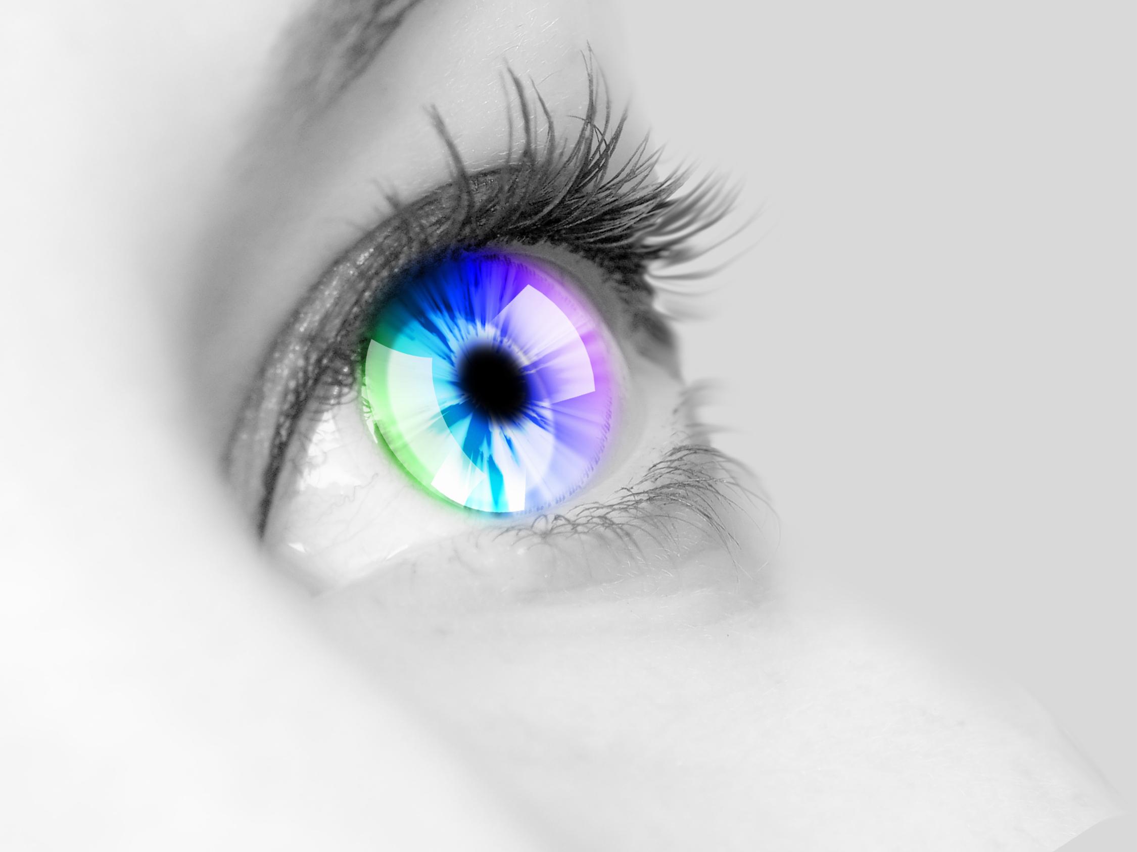 schimbarea culorii ochilor
