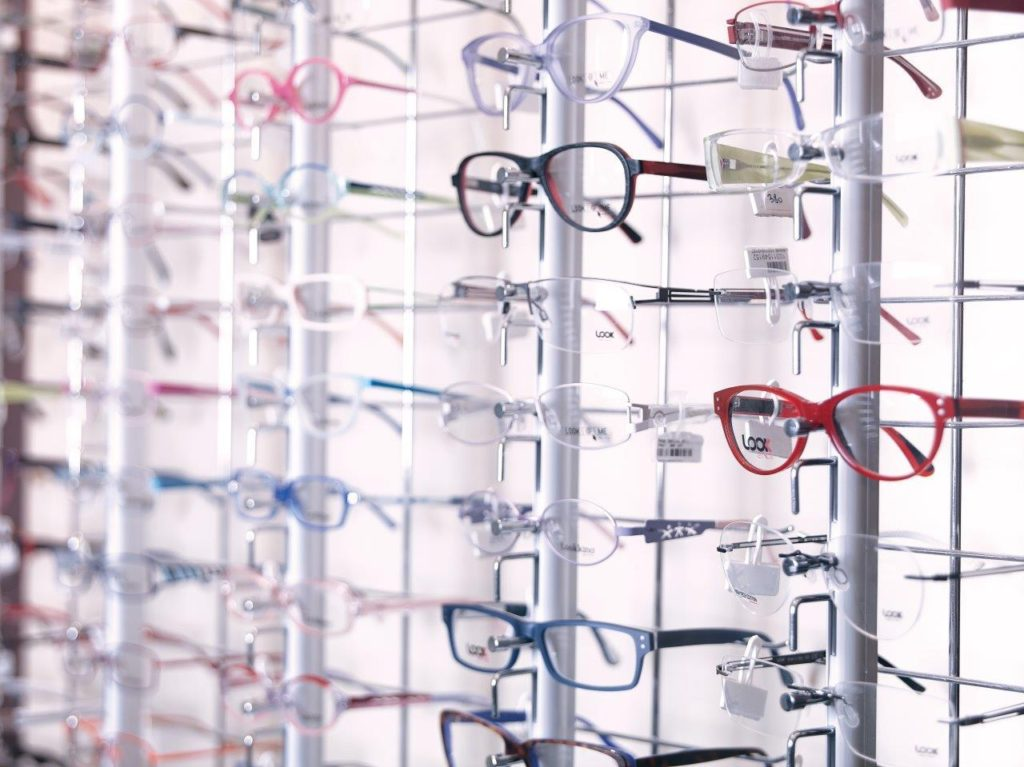 lentilele ochelarilor