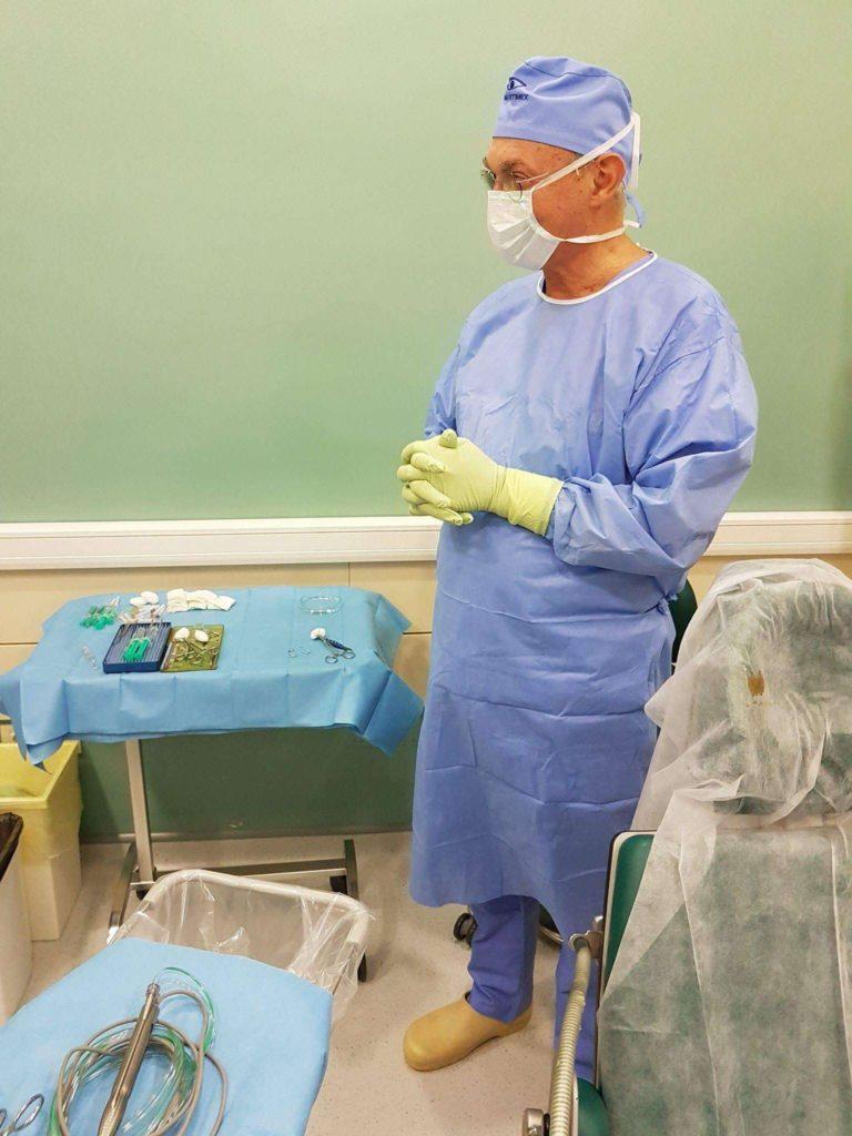 intervenție chirurgicală oculară slabă